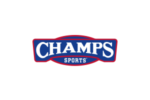 champs sports logo red and blue