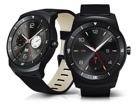 two views of the lg gwatch